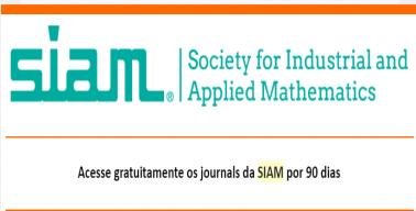 SIAM - Sociedade de Matemática Industrial e Aplicada