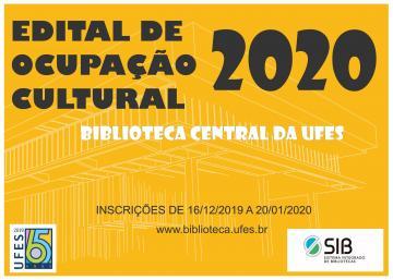 Edital de ocupação cultural Biblioteca Central da UFES
