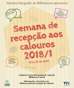 banner recepção de calouros 2018-1
